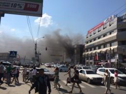 Скончался крановщик, пострадавший при пожаре в торговом центре