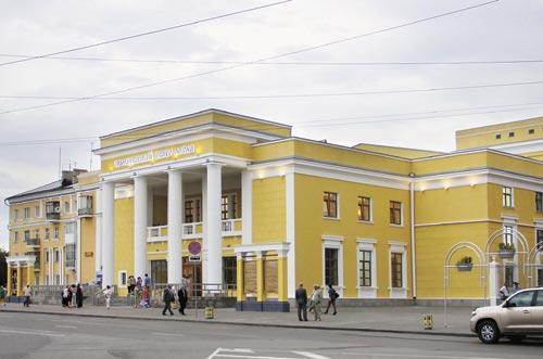 Так теперь выглядит  Молодежный театр Алтая после реконструкции по программе «75х75»