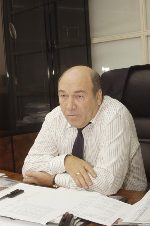 Председатель Совета директоров Новосибирского Муниципального банка Владимир Женов. Фото Континент Сибирь