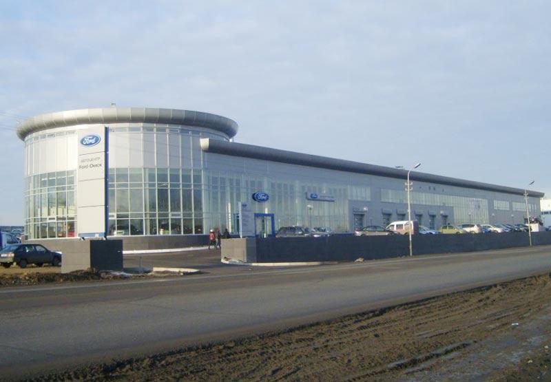 В кризис сразу двое дилеров Ford в Омске стали банкротами. В июне этого года импортер наконец восстанавливает свои позиции в регионе. Фото bibika.ru