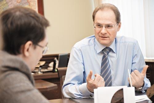 Миниатюра для: «Не буду удовлетворен, пока наш ВРП не достигнет одного триллиона рублей»