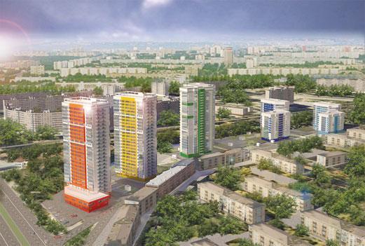 Проект ж/к «Астра». Фото с официального сайта ЗАО «Строитель»