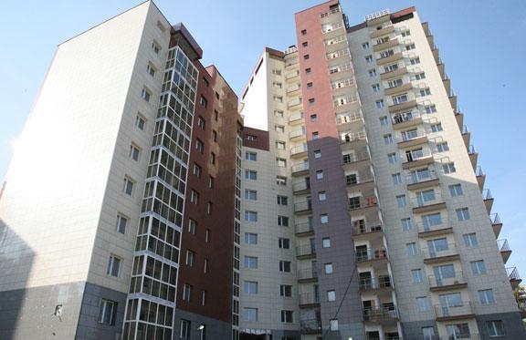 Долгострой на Некрасова. Фото пресс-службы правительства Новосибирской области