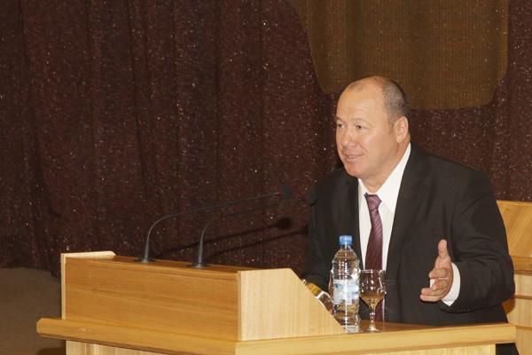 Александр Морозов. Фото пресс-службы Законодательного собрания Новосибирской области