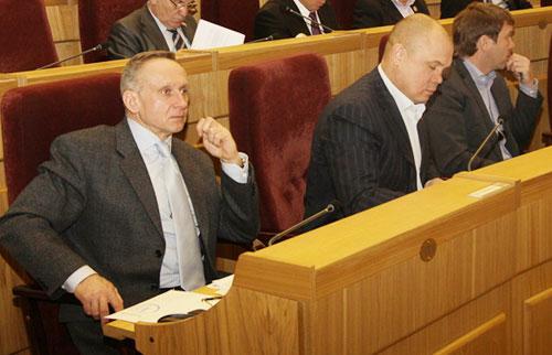 Андрей Панферов. Фото пресс-службы новосибирского Заксобрания