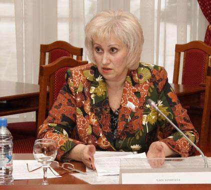 Вера Ганзя. Фото пресс-службы Заксобрания Новосибирской области