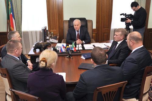 Фото пресс-службы правительства Хакасии