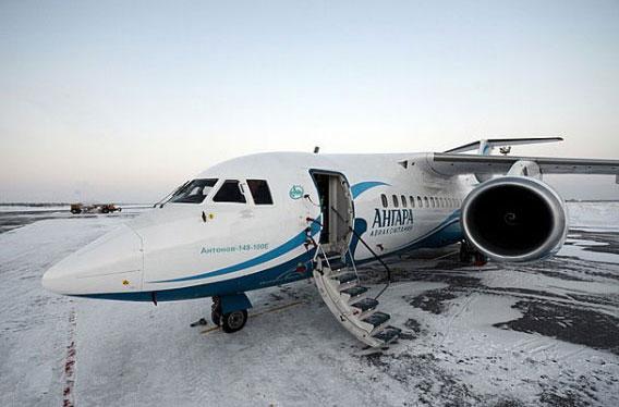 Фото пресс-службы авиакомпании Ангара