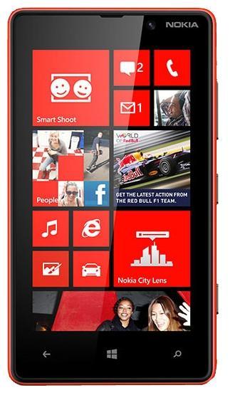 Nokia Lumia 820 - один из смартфонов