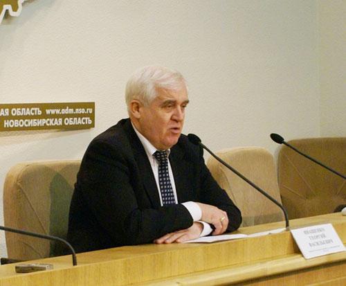 Георгий Иващенко. Фото пресс-службы правительства Новосибирской области