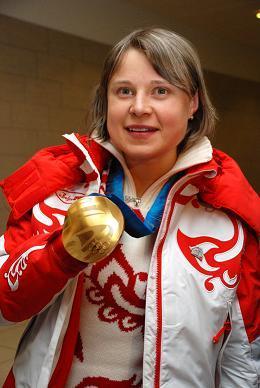 Двухкратная олимпийская чемпионка Анна Богалий.