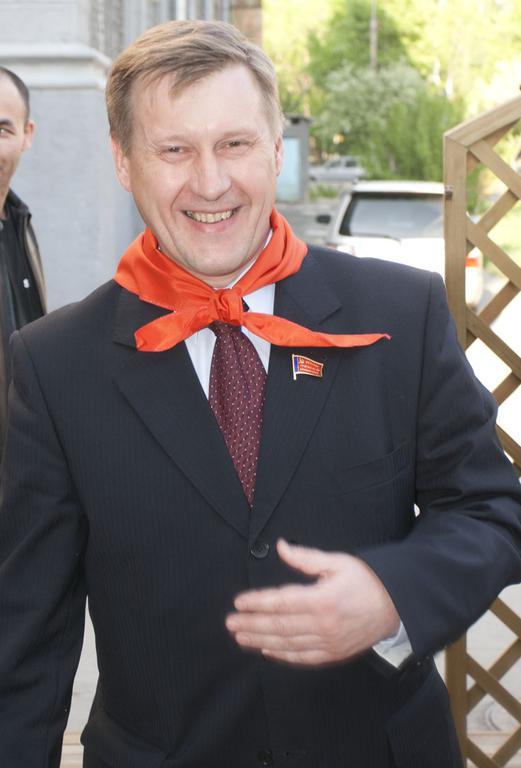 Первый секретарь новосибирского обкома КПРФ Анатолий Локоть