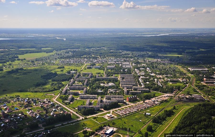 На фотографии: жилой район Пашино (Калининский район)