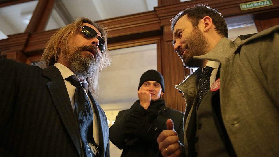 На фотографии: Сергей Троицкий (слева) и Илья Пономарев