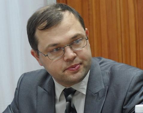 На фотографии: мэр Бердска Илья Потапов