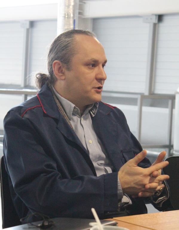 на фото: генеральный директор УК «Биотехнопарк Кольцово» Владимир Кожевников