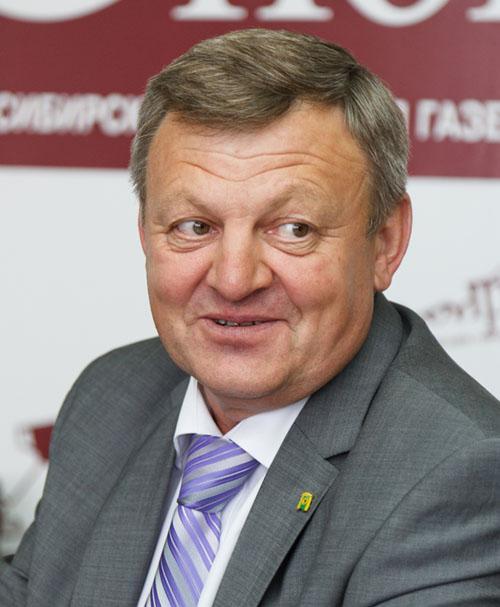 Врио заместителя губернатора Новосибирской области Василий Пронькин