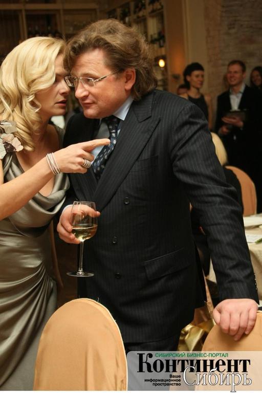 На фото: супруги Анна и Дмитрий Терешковы