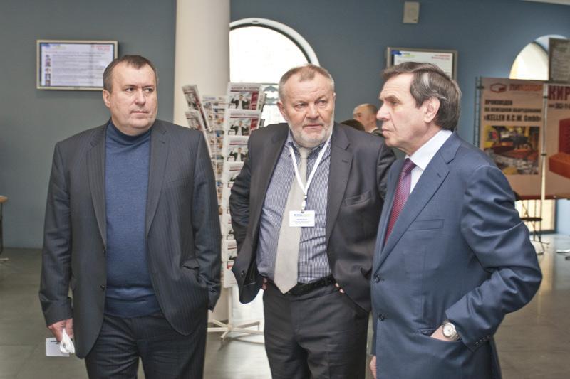 На фотографии: Сергей Боярский (слева)
