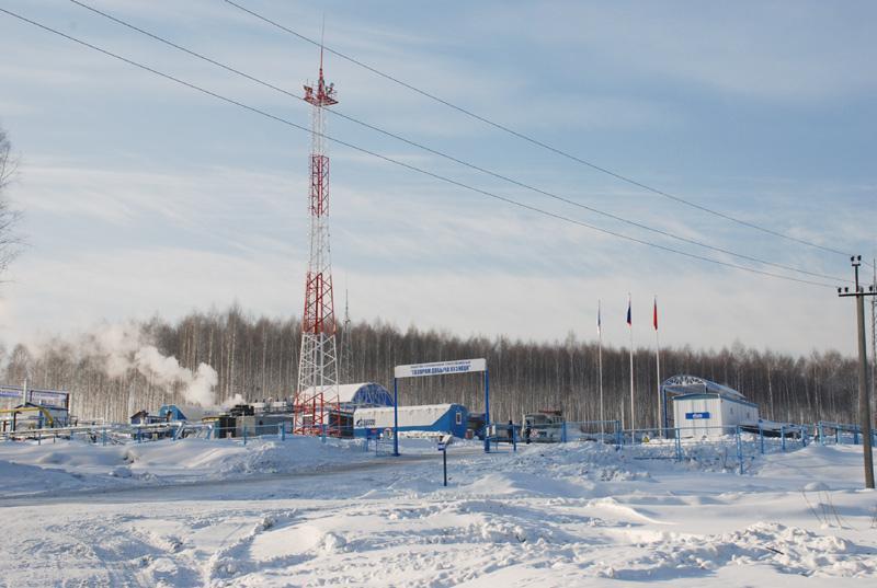 Промысловая площадка на восточном участке Талдинского месторождения. Фото gazprom.ru