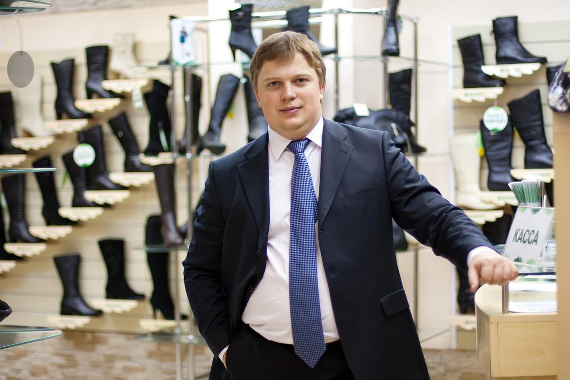 Генеральный директор ГК «Обувь России» Антон Титов. Фото с сайта www.megamagnat.ru