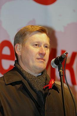 Основным соперником на предстоящих выборах Анатолий Локоть считает «Единую Россию»