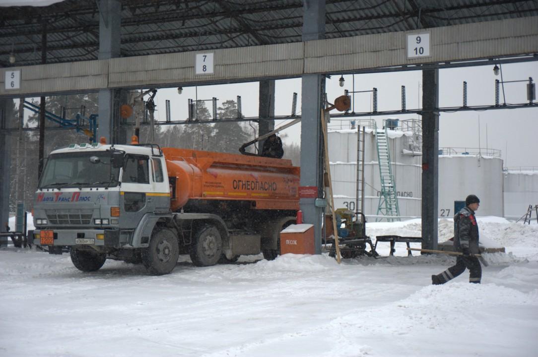 В ближайшее время поставок бензина в Новосибирск не предвидится