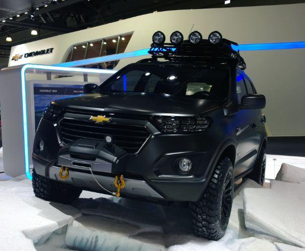 Прототип новой Chevrolet Niva