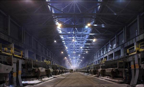 Красноярский алюминиевый завод. Фото пресс-центра РУСАЛа