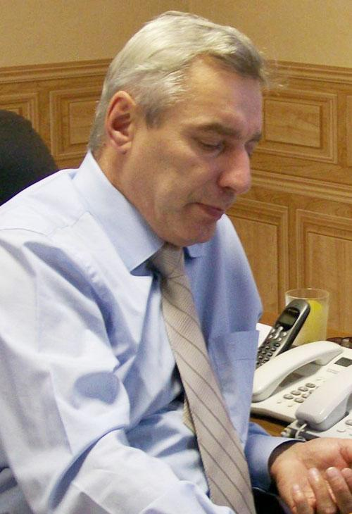 Михаил Кривицкий. Фото с официального сайта Абанского района