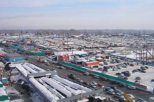 Гусинобродский рынок в Новосибирске. Фото gusinka.su