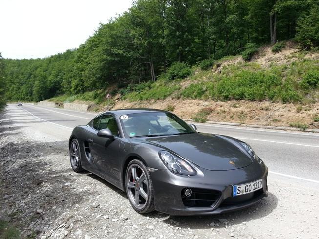 Фото автора и Porsche