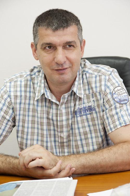 Директор кондитерской фабрики «Шоколадное дерево» Сергей Репников