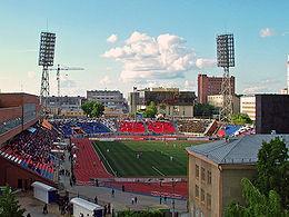 Новосибирский стадион «Спартак». Фото с сайта www.fc-sibir.ru