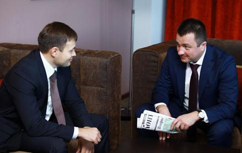 На фото: Дамир Баттулин (слева) и Петр Морсин (справа)