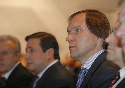Льва Кузнецова своим преемником считал и сам экс-губернатор Александр Хлопонин. Фото Михаила Перикова