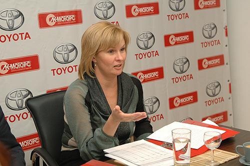 Наталья Жданова ожидает роста продаж автомобилей в Барнауле на 14%