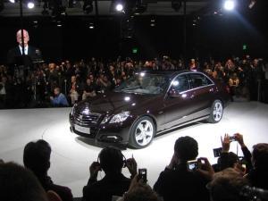 Миниатюра для: Детройт: новый Mercedes-Benz E-Class