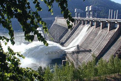 Красноярская ГЭС входит в десятку крупнейших гидроэлектростанций мира