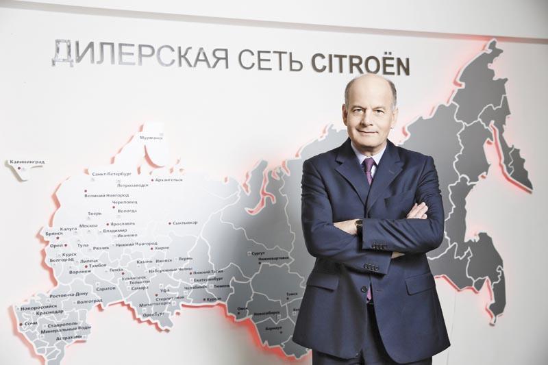 Жан-Луи Шамла, глава Citroen в России