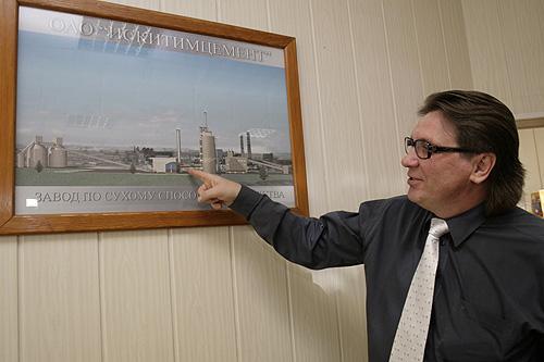 Игорь Мисько возглавлял «Искитимцемент» более пяти лет.Фото Михаила Перикова