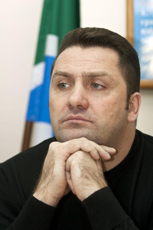 На фото: Министр региональной политики Новосибирской области Андрей Гудовский