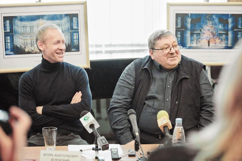 Борис Мездрич (на фото справа) и Игорь Зеленский