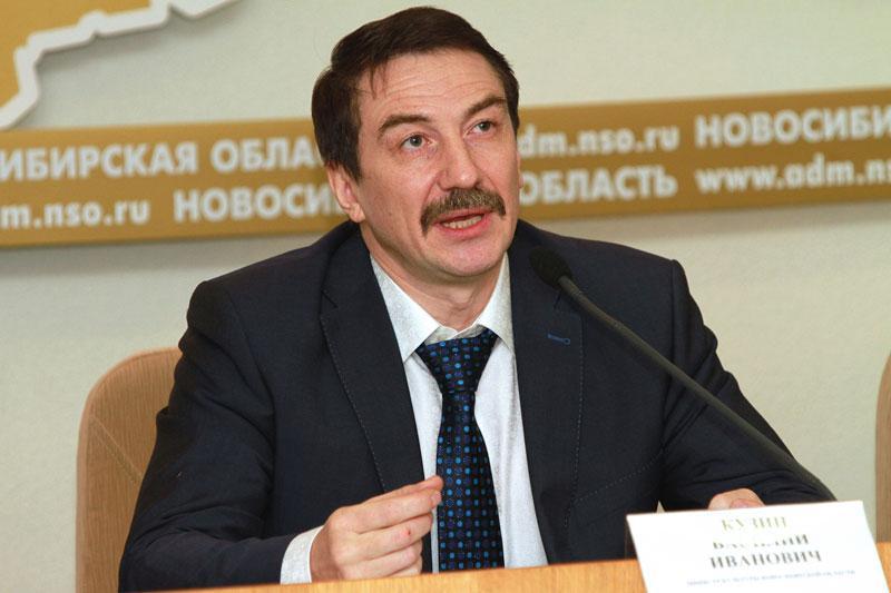 Министр культуры Новосибирской области Василий Кузин. Фото Сергея Ясюкевича