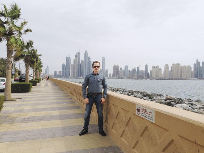 Эдуард Ляхов в Дубае