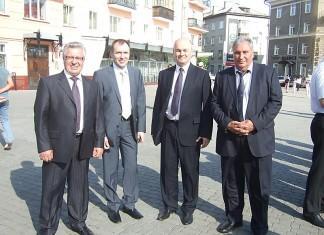 Четыре вице-губернатора. Фото Светланы Чистяковой