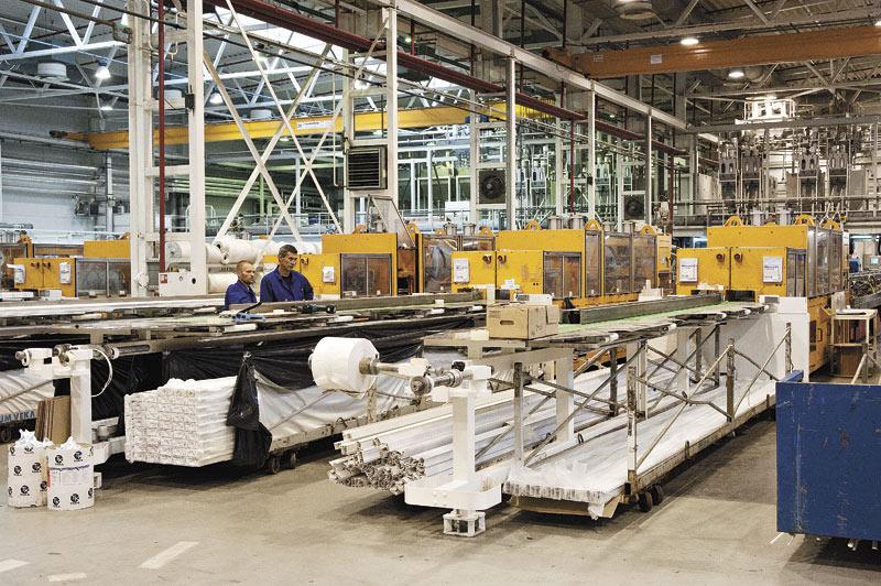 Экструзионный цех — основное производственное подразделение предприятия