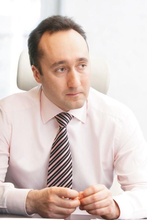 Управляющий партнер «Сибирского строителя» Дмитрий Малахов