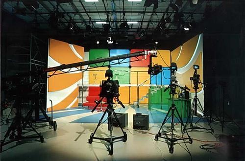 Съемочный павильон КТК «Афонтово»
