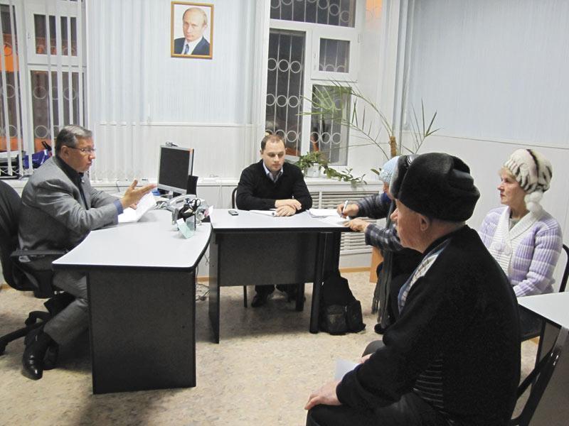 Юрий Зозуля на встрече с жителями районов Новосибирской области
